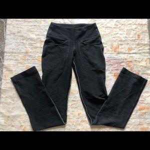 Lululemon straight leg coal denim pants 4